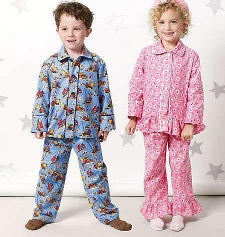 child pajamas pattern boys and tops pjs