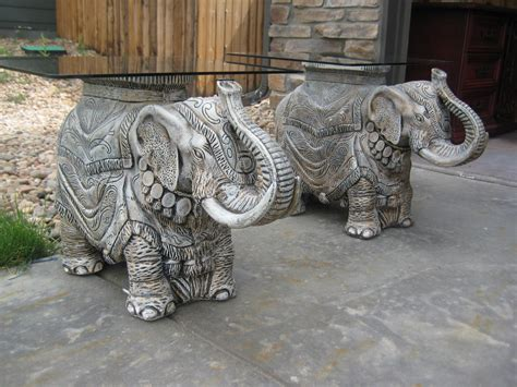 elephant tables for sale thornton moving sale vintage elephant end tables 100
