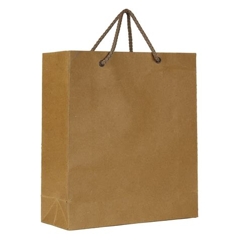 Paper Bags - kraft brown paper bag medium