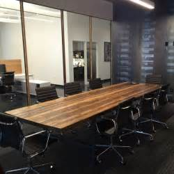 Reclaimed Wood Conference Tables » Home Design 2017
