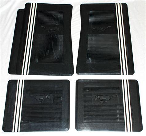 2005 Mustang Floor Mats 2005 2009 mustang rubber floor mats
