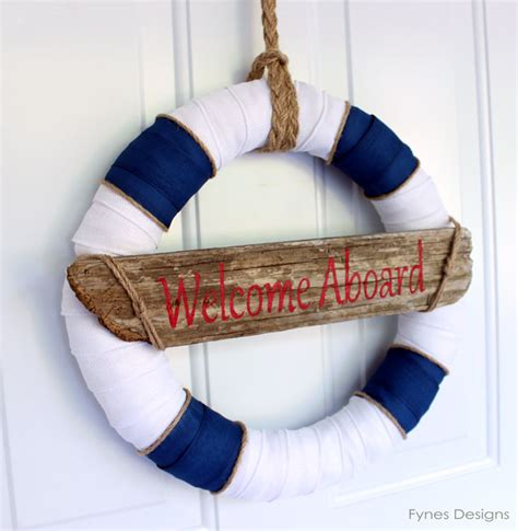 nautical decor nautical decor wreath inspired by lunenburg nova scotia