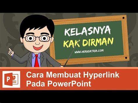 cara membuat hyperlink secara singkat cara membuat hyperlink pada powerpoint youtube