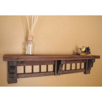 Mission Style Shelf by Mission Style Wall Shelf For The Home