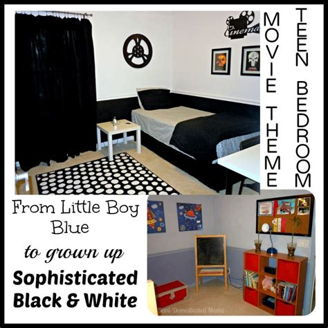 movie themed bedroom creating a teens black white movie themed bedroom