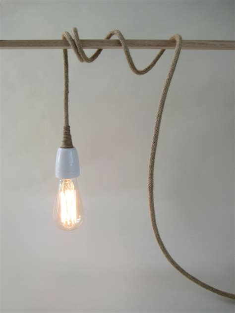 Light Cords Pendant Lights In Linen Pendant Light Make To Order Warnaa