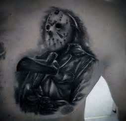 60 jason mask tattoo designs for men friday the 13th ideas