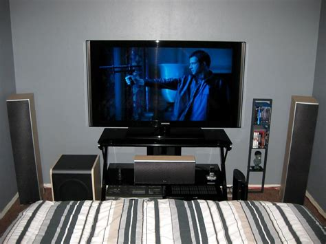 Bedroom Home Theater | frank white s home theater gallery my bedroom theater