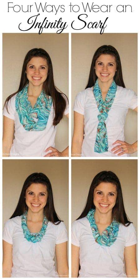 Ways To Wear An Infinity Scarf Four Ways To Wear An Infinity Scarf