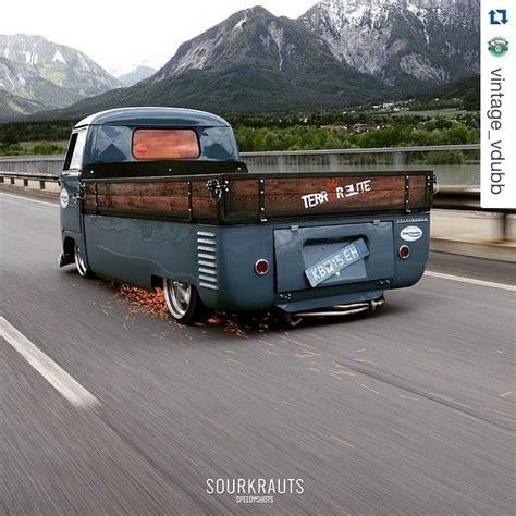 volkswagen pickup slammed 17 best images about bus on pinterest trucks vw