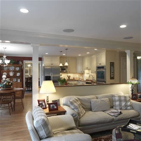 Living Room And Kitchen Wall Options For Taking A Load Bearing Wall Dc Metro