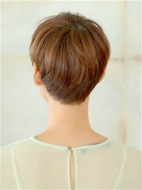 back view of short haircuts for women over 60 25 best ideas about pixie cut back view on pinterest