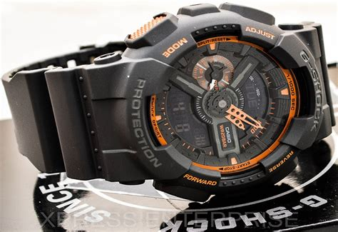 G Shock D 3641 Black Grey casio gshock grey ga110ts 1a4 review how to set