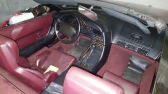 airbag deployment 1993 chevrolet corvette engine control 1993 corvette convertible 40th anniversary ruby red for sale photos technical specifications
