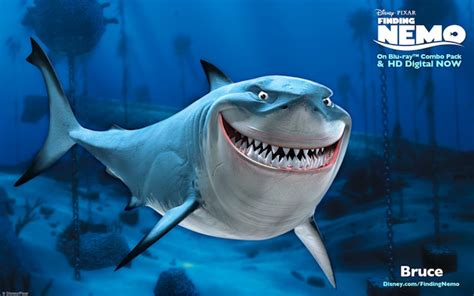 Finding Great Finding Nemo Bruce The Shark
