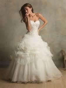 News vestido de casamento Ball Gown Decoration Appliques flower Organza Custom made wedding gown abito da sposa vestido de novia