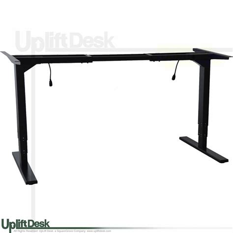height adjustable desk base uplift height adjustable standing desk frame 2 leg