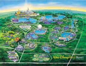 Disney World Map Of Resorts by Disney World Resort Hotel Map