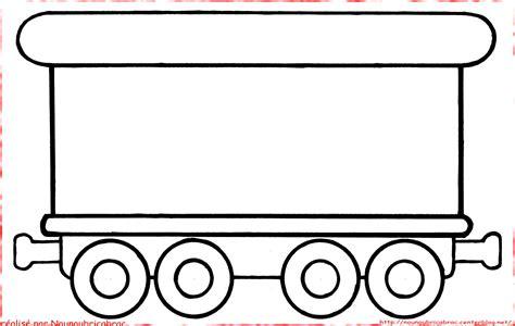 Coloriage D Un Train Avec Ses Wagons