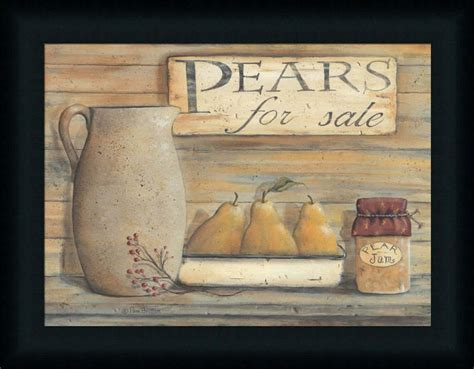 country kitchen decor sale pears for sale pam britton country kitchen framed
