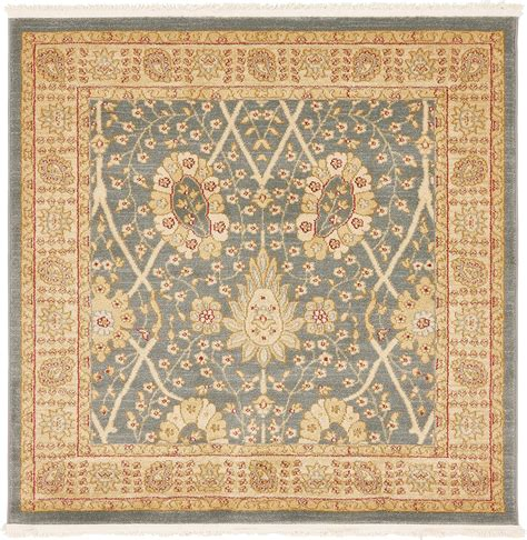 Traditional Rugs Blue by Traditional Style Rugs Light Blue 4 X 4
