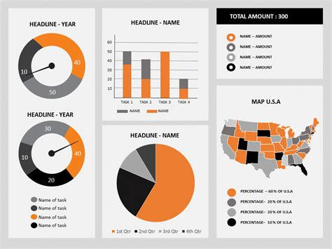 dashboard template powerpoint powerpoint dashboard template 002 elearningart