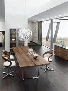 modern kitchen furniture sets modern walnut dining table