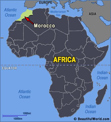 africa map morocco map of morocco facts information beautiful world