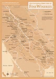sonoma california wineries map sonoma county map of california wineries
