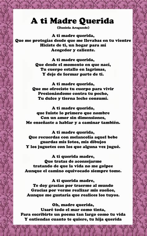 Spanish Mothers Day Poems | mother s day poems in spanish 1 quote