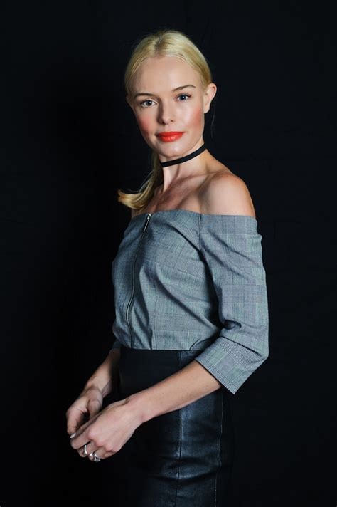 Kate Bosworth Poses For Vogue Us by Gallery Leather