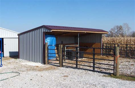 Run In Shed Kits by Wrangler Run In Shelter Kits Klene Pipe Structures