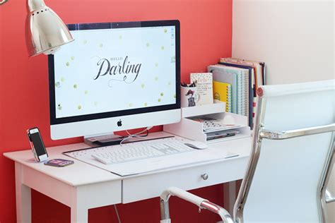 Organize Office Desk How To Maintain An Organized Desk Modish