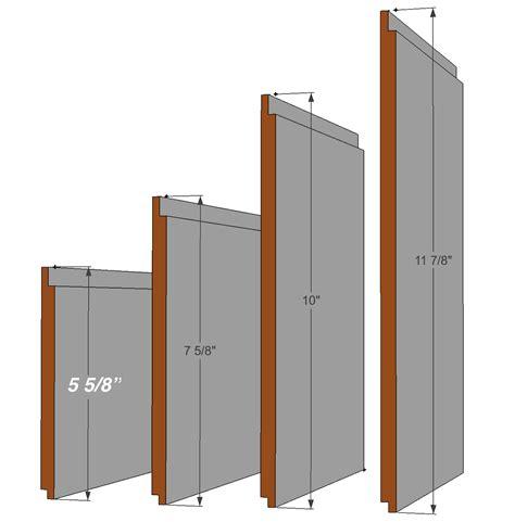 Mdf Shiplap Planks Large Nickel Gap Plank Shiplap I Elite Trimworks