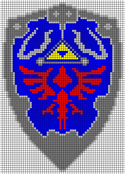 zelda free pattern zelda hylian shield pattern by hawkdaughter on deviantart