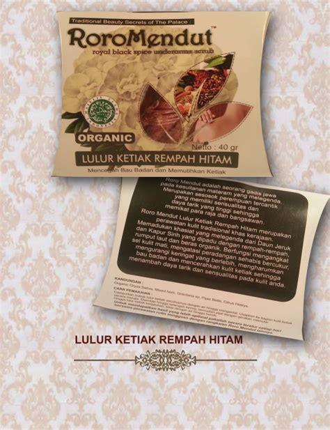Serum Roro Mendut roro mendut organics skincare buy fresh skincare product