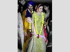 See pics: Mohit Sehgal, Sanaya Irani are man and wife Kinshuk Mahajan And Sanaya Irani