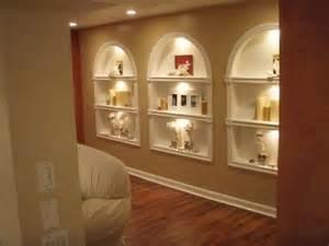 How To Build Wall Bookshelves - diy built in shelves bookshelves of plasterboard youtube