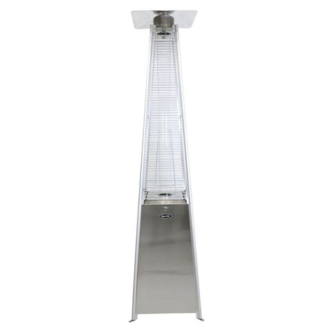 Mirage 38 200 Btu Bronze Heat Focusing Propane Gas Patio Mirage Heat Focusing Patio Heater