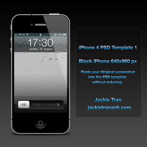 iphone 4 template iphone 4 template v 1 by jackietran on deviantart