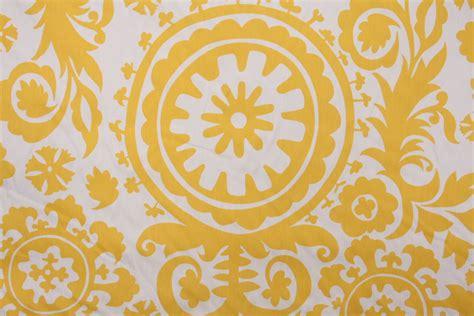yellow drapery fabric premier prints suzani twill printed cotton drapery fabric