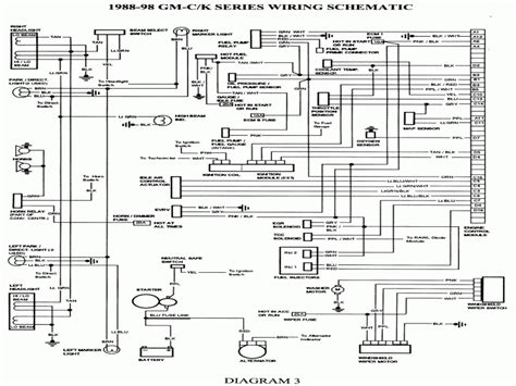1988 gmc k1500 z71 wiring diagrams wiring diagram schemes