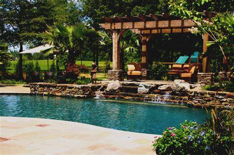 backyard living pools mississippi natural pool outdoor living design