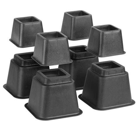 adjustable bed risers bed risers adjustable set of 8 in bed risers