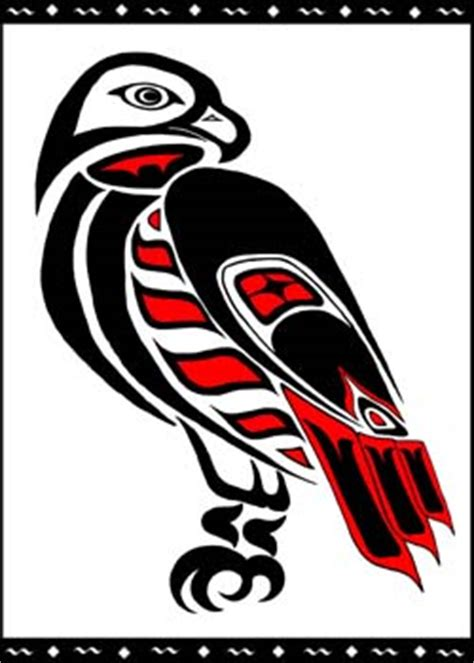 red tailed hawk totem by lagaz on deviantart