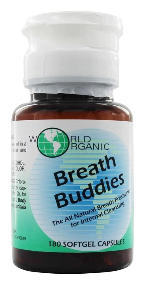Vitamin Buddies buy world organic breath buddies 180 softgels at