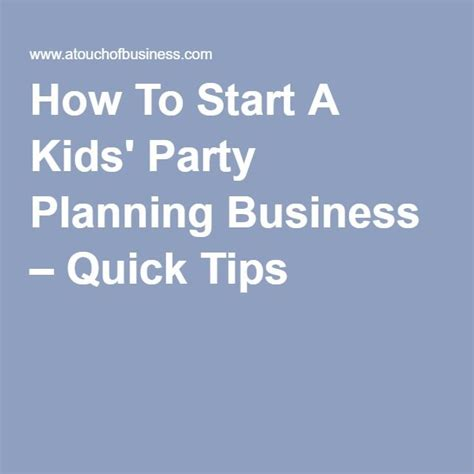 How To Start A Party Planning Business From Home | 25 best ideas about business planning on pinterest