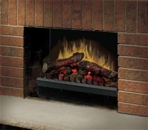 dimplex 23 quot deluxe led electric fireplace insert