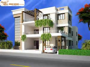 home building designs triplex house design apnaghar house design