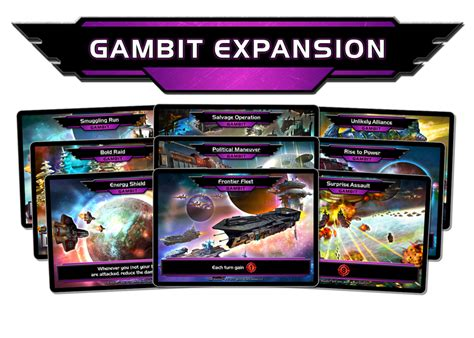 how to make gambit cards sets and expansions realms deck building